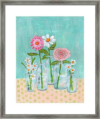Isabella Rose Flowers Framed Print