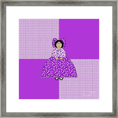 Isabelle Framed Print by Methune Hively