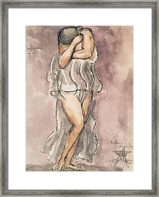 Isadora Duncan Framed Print by Emile-Antoine Bourdelle