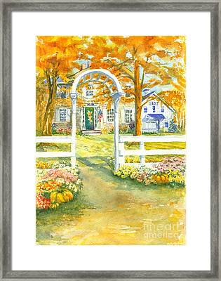 Isaiah Hall Framed Print by Robert Haeussler