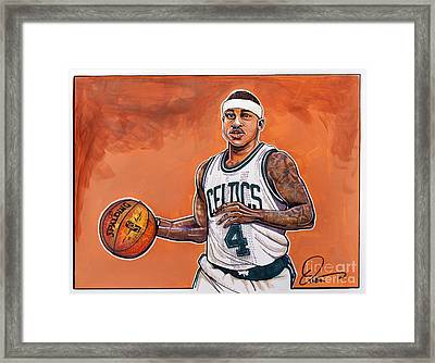 Isaiah Thomas Framed Print by Dave Olsen