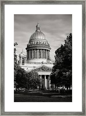 Isakievsky Cathedral Framed Print by Konstantin Dikovsky