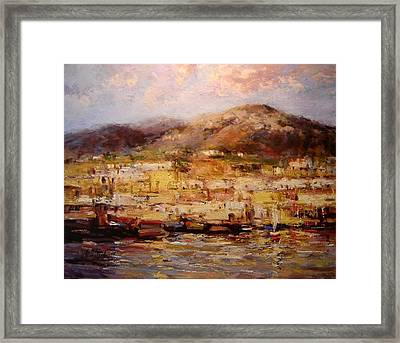 Ischia  Framed Print by R W Goetting