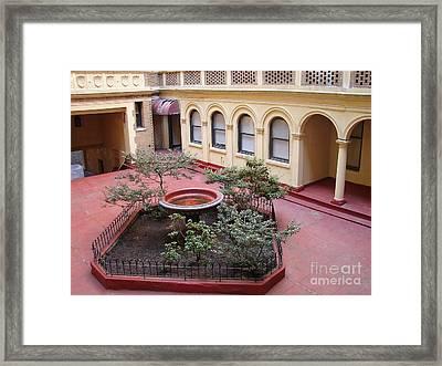 Isham Gardens Framed Print