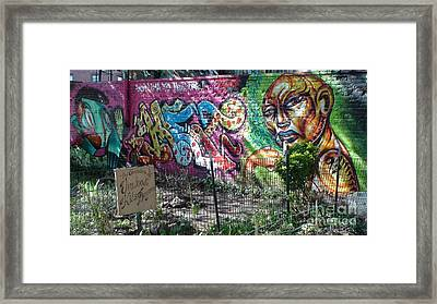 Isham Park Graffiti  Framed Print by Cole Thompson