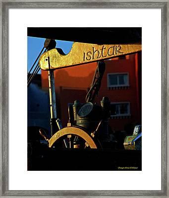 Ishtar Framed Print by Chaza Abou El Khair