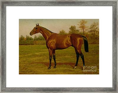 Isinglass, Triple Crown, 1893 Framed Print by Harrington Bird