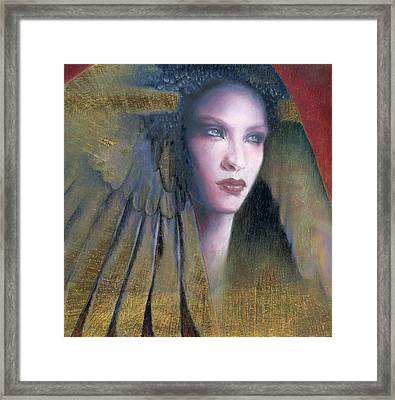 Framed Print featuring the painting Isis by Ragen Mendenhall