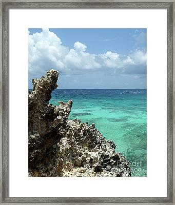 Isla De Mujeras Framed Print