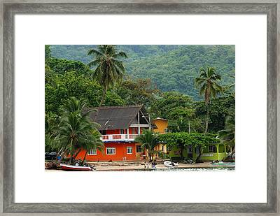 Isla Grande Framed Print by Iris Greenwell