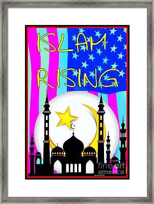 Islam Rising Framed Print by Peter Gumaer Ogden