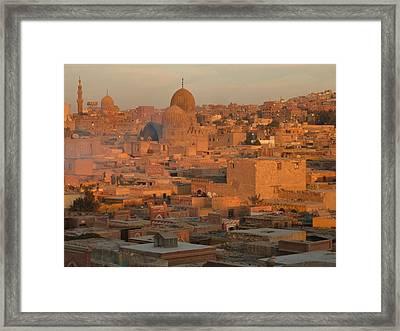 Islamic Cairo Framed Print by By Neil Donovan.  Visit www.neildonovan.net for more.