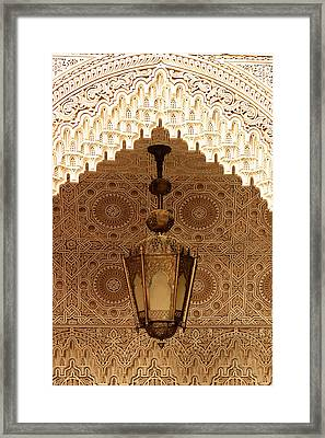Islamic Plasterwork Framed Print by PIXELS  XPOSED Ralph A Ledergerber Photography