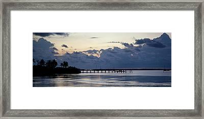 Islamorada Blues Florida Keys Framed Print by Michelle Wiarda