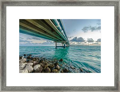Islamorada Crossing Framed Print by Dan Vidal