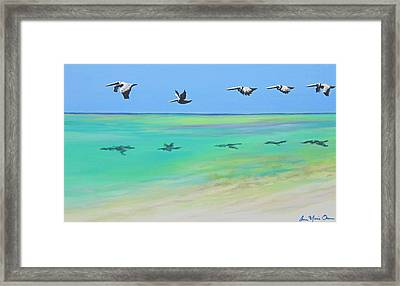 Islamorada Five Framed Print by Anne Marie Brown