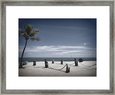 Islamorada Scenery Framed Print by Tammy Chesney