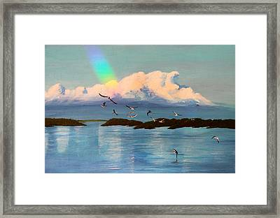 Islamorada Village Of Islands Framed Print by Susan Vineyard