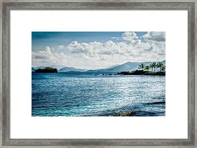 Island Blues Framed Print
