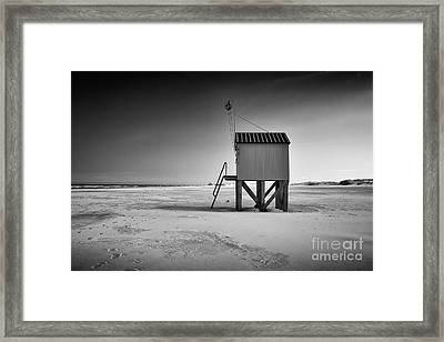 Island Cabin Framed Print