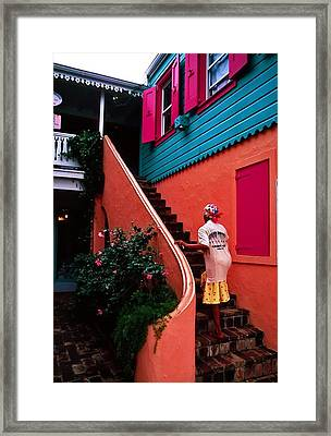 Island Color. British Virgin Islands Framed Print