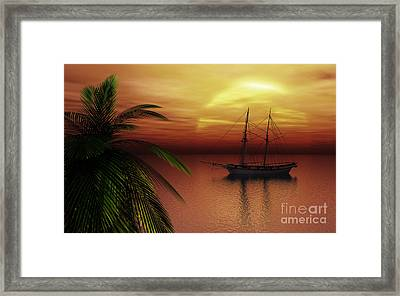 Island Explorer  Framed Print by Richard Rizzo