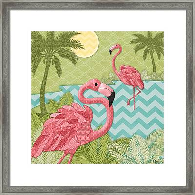 Island Flaming I Framed Print by Paul Brent
