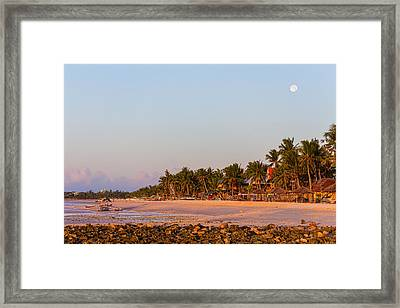 Island Full Moon Framed Print by James BO Insogna