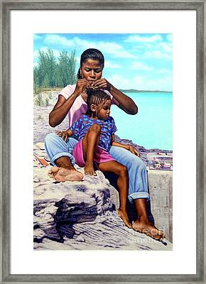 Island Girls II Framed Print