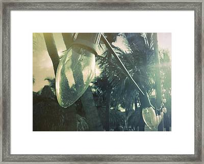 Island Greeting Framed Print by JAMART Photography