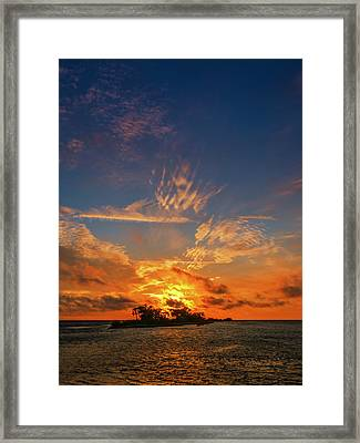 Island In The Sun Framed Print by Marvin Spates