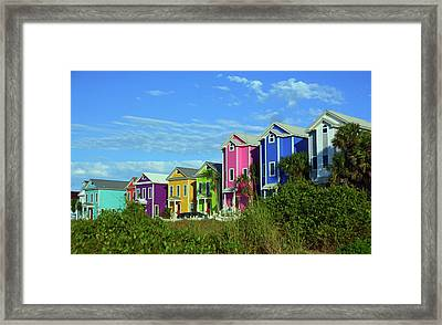 Island Ladies Framed Print