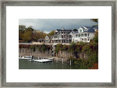 Framed Print featuring the photograph Island Living by Kathleen Stephens