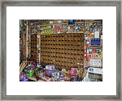 Island Mail Framed Print by Mark Miller