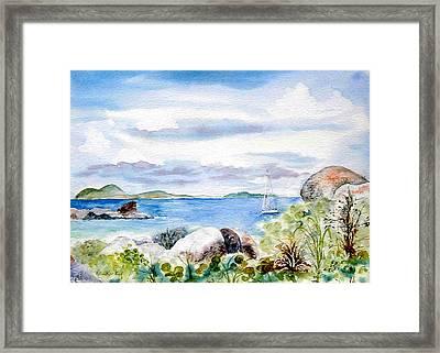 Island Memories Framed Print