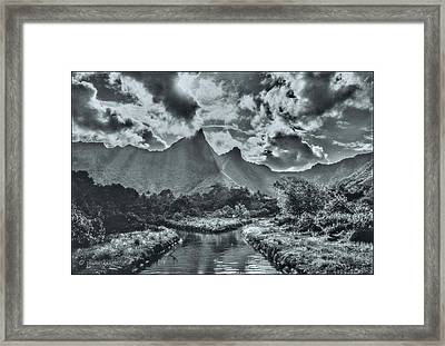 island Moorea Framed Print