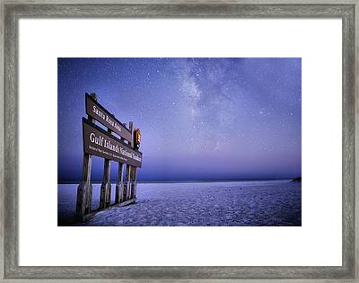 Island Nights Framed Print