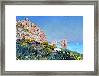 Island Of Capri - Gulf Of Naples Framed Print