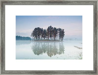 Island Of The Day Before Framed Print by Evgeni Dinev