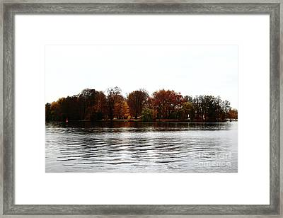 Island Of Trees Framed Print