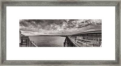 Island Panorama - Ryde Framed Print