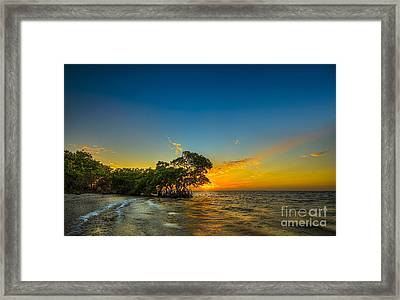 Island Paradise Framed Print by Marvin Spates