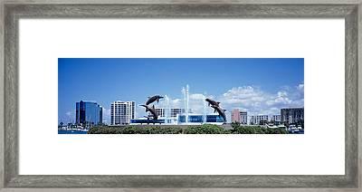 Island Park Sarasota Florida Usa Framed Print by Panoramic Images