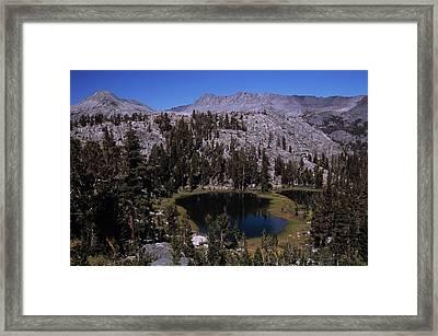 Island Pass Lake Framed Print