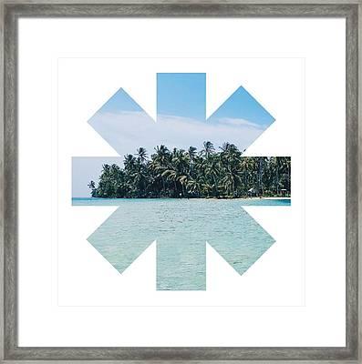 Island Framed Print by Rhcp