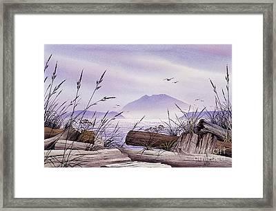 Island Splendor Framed Print by James Williamson