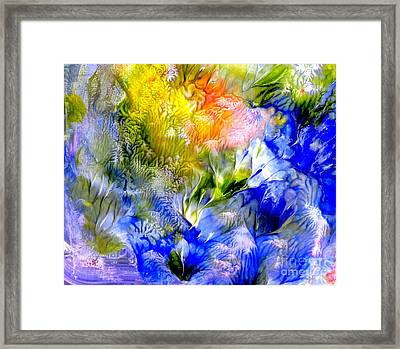 Island Spring Framed Print by Fred Wilson