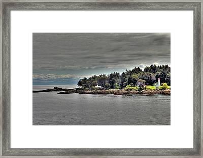 Island Summer Framed Print