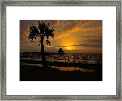 Island Sunrise Framed Print