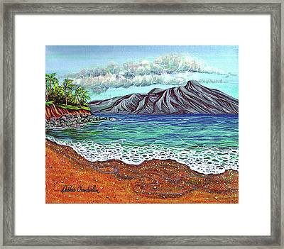 Island Time Framed Print by Debbie Chamberlin